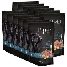 Piper Adult alutasakos eledel bárányhússal, sárgarépával és barna rizzsel 12 x 500 g