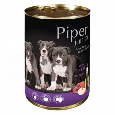 Can Piper Junior veal meat and apple konzerv 400 g