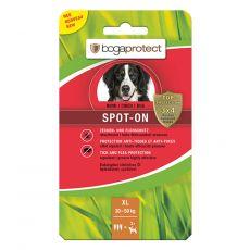 BOGAPROTECT Spot-On XL, parazitaellenes cseppek kutyák számára 3 x 4,5 ml