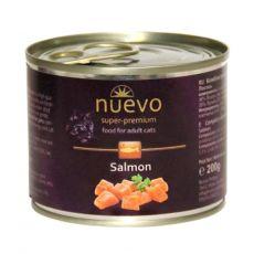 NUEVO CAT Adult Salmon konzerv 200 g