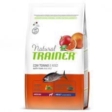 Trainer Natural Medium Adult hal és rizs 3 kg