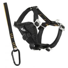 Kurgo Tru-Fit Smart Harness utazó kutyahám, fekete XS