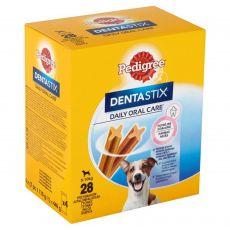 Pedigree Dentastix Daily Oral Care fogápoló jutalomfalatok kis termetűk kutyák számára 28 db (440g)