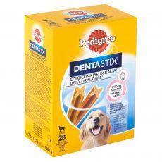 Pedigree Dentastix Daily Oral Care fogápoló jutalomfalatok nagy termetű kutyák számára 28 db (1080g)