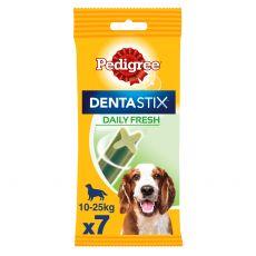 Pedigree Dentastix Daily Fresh fogápoló jutalomfalatok közepes termetű kutyák számára 7 db(180g)