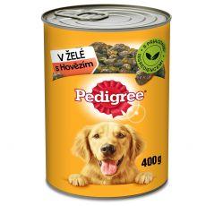 Pedigree konzerv marhahús zselében 400g