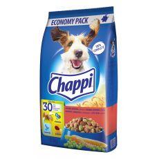 Chappi száraztáp marhahússal, csirkehússal és zöldségekkel felnőtt kutyák számára 9 kg