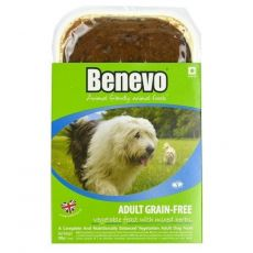 Benevo ADULT GRAIN-FREE kutyaeledel gyógynövénykeverékkel  395 g