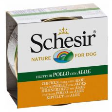 Schesir kutyaeledel - Csirkehús aloe verával aszpikban 150 g