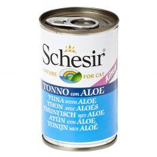Schesir kölyökmacska eledel - Tonhal aloe verával aszpikban 140 g