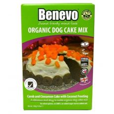Benevo BIO karobos-fahéjas torta kutyák számára 140 g