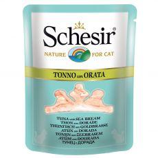 Schesir macskaeledel - Tonhal és tengeri keszeg húslevesben 70 g