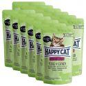 Happy Cat ALL MEAT Adult Sterilised alutasakos eledel Veal & Lamb 12 x 85 g