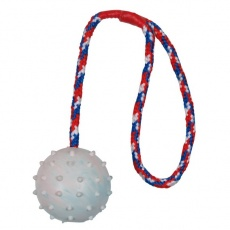 Zsinóros labda kutyajáték -  6 cm