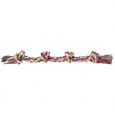 Rágójáték kutyának - csomós pamut kötél, 54 cm
