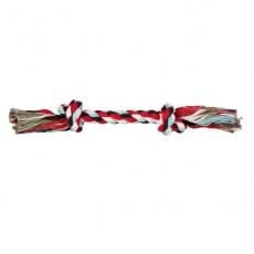 Kutyajáték - pamut rágóka csomóval, 37 cm