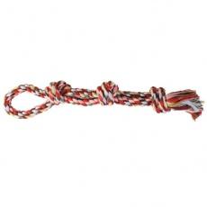 Kutyajáték - csomós kötél rágóka, 60 cm