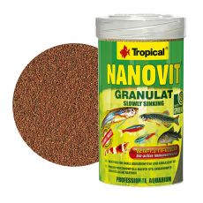 TROPICAL Nanovit granulátum 100 ml / 70 g