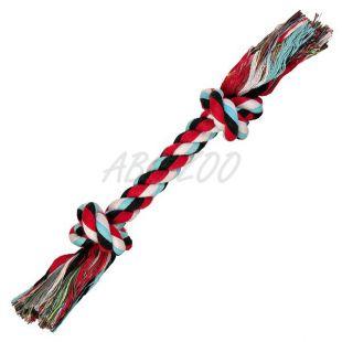 Kutya játék - rágókötél csomóval, 26 cm