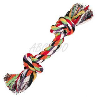 Kutyajáték - mini kötél rágóka, 15 cm