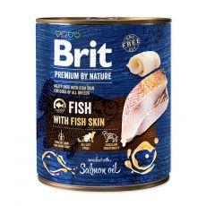 Brit prémium a Nature –től, Hal és halbőr konzerv 800 g