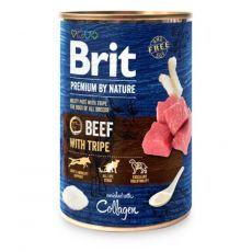 Brit prémium a Nature –től, Marha és pacal konzerv 400 g