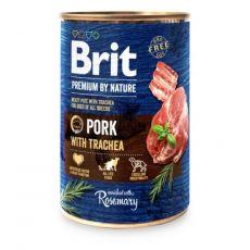 Brit prémium a Nature –től, Sertés és légcső konzerv 400 g