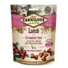 Carnilove Dog Ropogós Snack Bárány vörösáfonyával 200 g