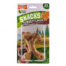 Nylabone ehető Snack pulyka M 2 db