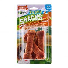 Nylabone ehető Snack Kölyök pulyka és édesburgonya S 4 db
