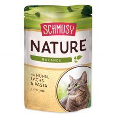 Schmusy Nature csirke és lazac nedves eledel 100 g