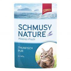 Schmusy Nature tonhal zselés nedves eledelben 100 g