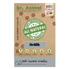 Dr.Animal 100% nyúlcsíkok 80 g