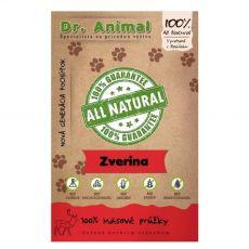 Dr.Animal 100% vadhús csíkok 80 g