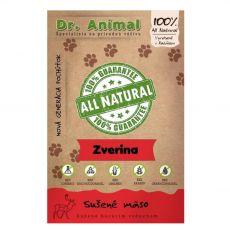 Dr.Animal 100% szárított vadhús 80 g