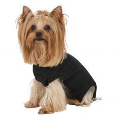 Műtét utáni ruházat kutyák számára XXXS fekete