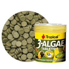 TROPICAL 3-Algae tabletták A 50 ml / 36 g