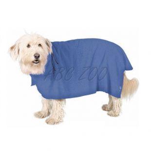 Fürdőköpeny kutyáknak - kék - 30cm