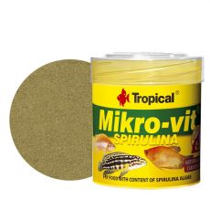 TROPICAL Mikro-vit Spirulina 50 ml / 32 g