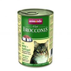 Animonda Cat BROCCONIS vadhús és baromfi 400 g