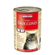 Animonda Cat BROCCONIS marha és baromfi 400 g