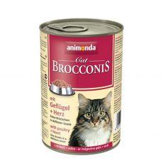 Animonda Cat BROCCONIS baromfi és szív 400 g
