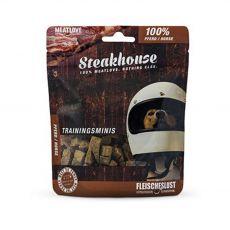 Meat Love Steakhouse Mini jutalomfalatok 100% ló 100 g