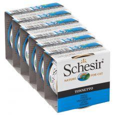 Schesir macskaeledel - Tonhal aszpikban 6 x 85 g