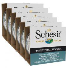 Schesir macskaeledel - Tonhal és lepényhal aszpikban 6 x 85 g