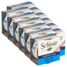 Schesir kölyökmacska eledel - Tonhal aloe verával aszpikban 12 x 85 g