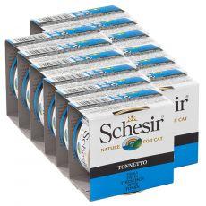 Schesir macskaeledel - Tonhal aszpikban 12 x 85 g
