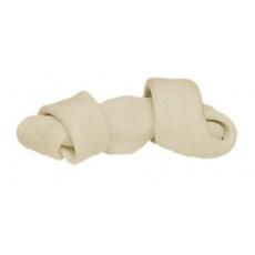 Csomózott rágócsont - fehér 50g, 11cm