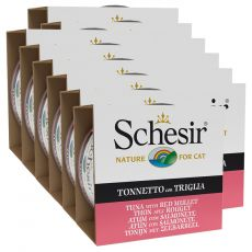 Schesir macskaeledel - Tonhal és vörösmárna aszpikban 12 x 85 g