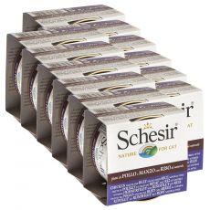 Schesir macskaeledel - Csirke- és marhahús rizzsel 12 x 85 g